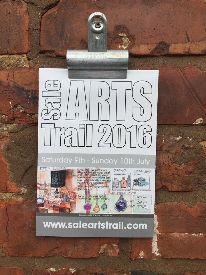 sale arts trail map