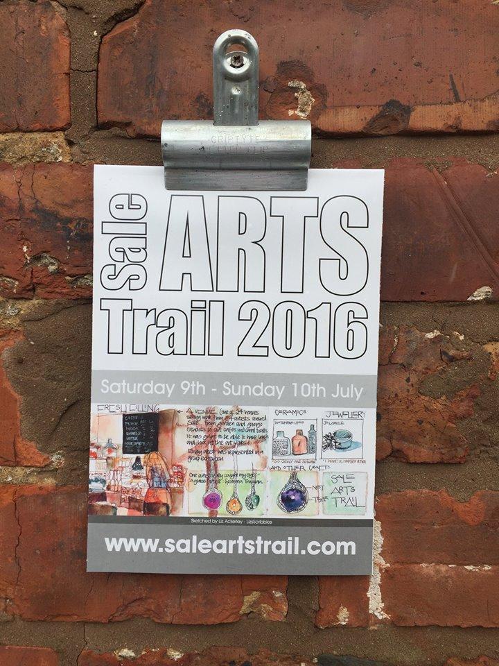 sale arts trail map