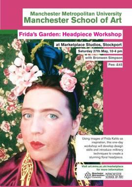 Fridas garden poster